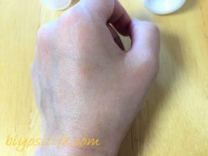 ケロデックスクリーム×ハンズエーピーピー比較6