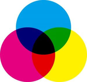 色の三原色 髪
